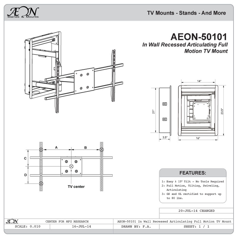 In Wall Tv Mount Recessed In Wall Tv Mounts For