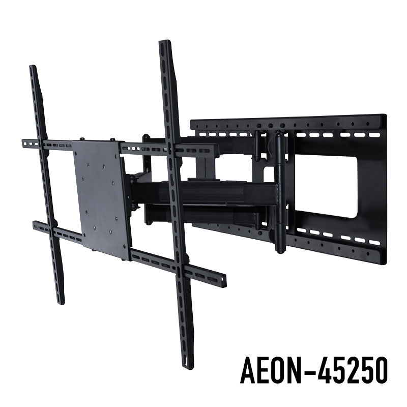 Open Box Articulating Full Motion TV Mount With Long Arm