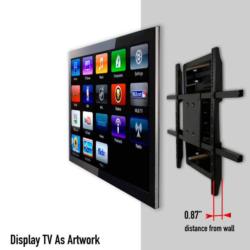 Tv Wall Mount Room For Plugs