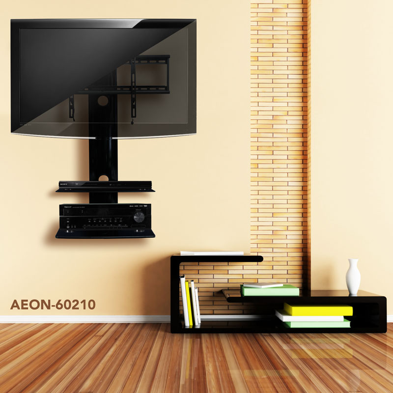 Description For Tv Wall Mount With Two Shelves