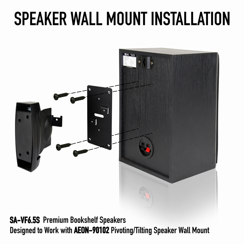Speaker Wall Mount Heavy Duty Bookshelf Speaker Sls Q Line Av Express