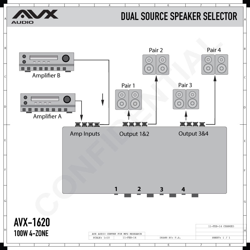 Four 4 Zone Dual source Speaker Selector with volume control    AV on 2 position selector switch diagram, fuel selector switch diagram, actuator wiring diagram, mod box wiring diagram, fuse wiring diagram, battery to alternator wiring diagram, accessory wiring diagram, key wiring diagram, selector switch cover, disconnect wiring diagram, joystick wiring diagram, buzzer wiring diagram, pump wiring diagram, selector switch installation diagram, bridge wiring diagram, illuminated push button wiring diagram, 4 position selector switch diagram, control wiring diagram, pin wiring diagram, selector switch relay,