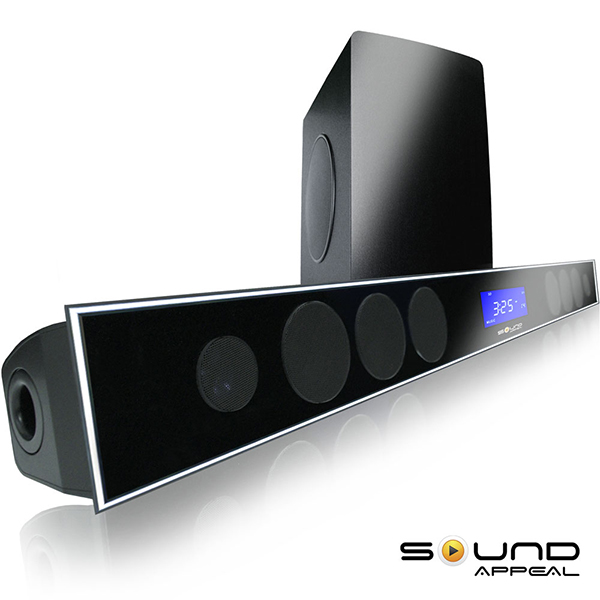 SoundBar For TV With 80 Wireless Subwoofer