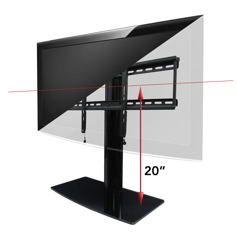 Tv Stand With Mount Swiveling Tv Stand Av Express
