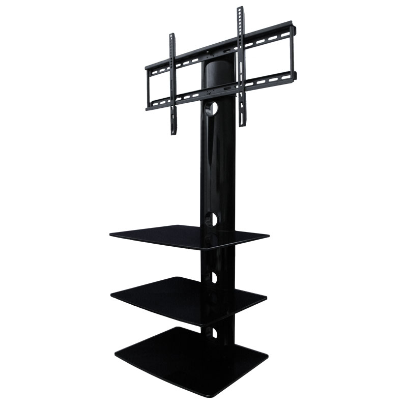 TV Wall Mount With Three Shelves | TV Mounts