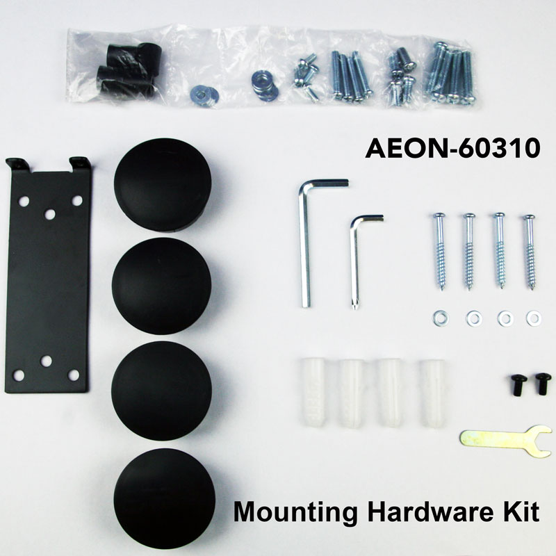 What Is In The Box For Tv Wall Mount With Three Shelves