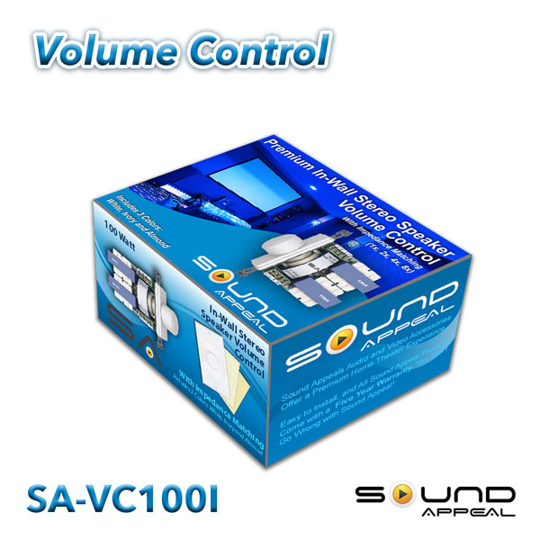 Volume Controls In-Wall Stereo Volume Control Switch with Impedance ...