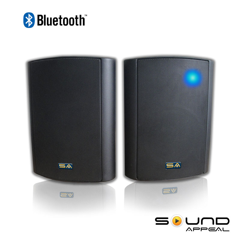 how to connect outdoor speakers to tv
