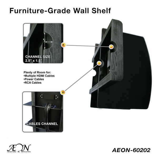 shelf component adjustable black tier