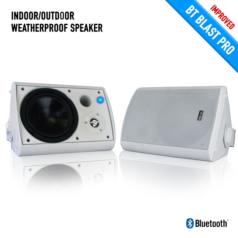 Bluetooth Indoor Outdoor Weatherproof Patio Speakers Designs